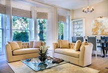 Montagu Square Townhouse Project / We undertook the full redevelopment and extension of this Georgian building in Montagu Square. The apartments within the building were designed to different styles to cater for the different owners.