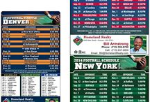 Sports Schedules for Real Estate Agents