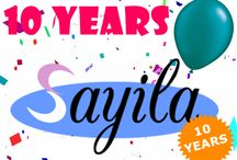 10 YEAR SAYILA / Sayila celebrates its 10th anniversary! Do you want your self-made jewelry sold at Sayila? Check out our website www.sayila.com