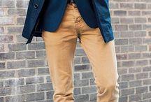 Menswear: Camel pants