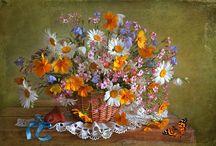Still Life / photos bouquets de fleurs