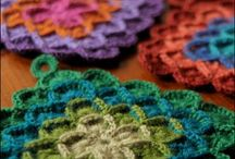 Crafts: Crochet-Pot Holders / by Jeanette Schwarz