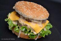 Burger sauce giant / Plat