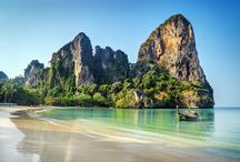 Travel Thailand Krabi Railay Beach | Maaike van Wijk Design Studio / Travel Inspiration Thailand.