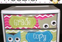 Teaching Organization / Tips for organizing your classroom and the papers you have to keep track of!