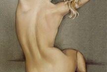 Oleo - Desnudos