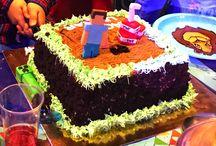 Minecraft theme birthday