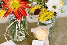 Weddings: centerpieces