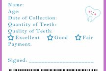 The tooth fairy ideas