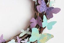 Origami floristry