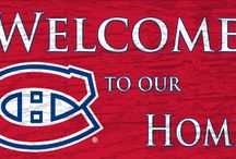 Habs Mancave / Sports merch for the mancave of Montreal Canadiens fans