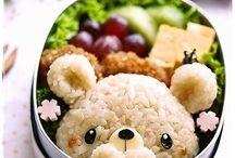 Makanan siang anak