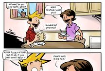 comic ~ calvin & hobbes