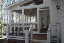 """Decks, Patios, & Screen Porches / Door replacement = 92"""" h x 72"""" w, out swing opening without transom, or 80"""" h x 72"""" w with current transom."""