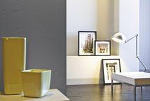 Gestaltungsideen im Betonlook / Betonlook ist im Trend! Mit VOLIMEA exklusive Wandbeschichtungen erschafft der Maler Ihres Vertrauens Betonlook in Ihren Lebensräumen