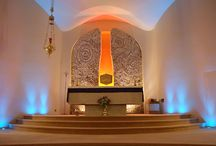 St. Kevin's Church project / Creative lighting, atmosphere and warmth were key on this project. We worked very closely with our sister company WTWO Design and the Tinahely church committee.