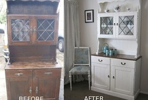 My Before & Afters / These are my upcycling projects - see www.voodoomolly.co.nz