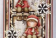 Scrap christmascards