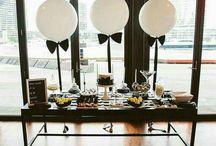 Gentleman's Birthday, Little Man's Birthday in Black and White
