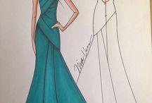 Fashion Sketches / Nick fashion sketches/illustrations