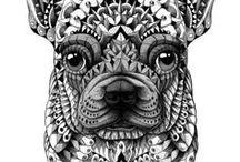 dog/cat art