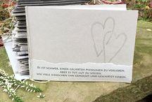 Trauerkarte Danke