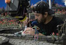 Coraline behind the scenes