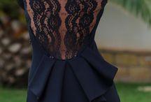 Dress: Peplum