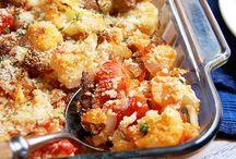 Sausage & Cauliflower casserole