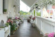 Ik ben gek op veranda's / Allemaal voorbeelden van veranda's of gelijksoortige uitbouwen