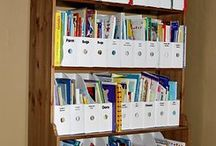 Organizing Children's Books / Simple ideas to keep your children' books organized.