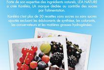 La santé par l'alimentation / Proposer des produits bio « Made in France« , bénéfiques pour la santé, valorisant des filières locales ou des filières bio issus du commerce  solidaire, garantis sans huile de palme… font partie de l'ADN de LÉA NATURE.