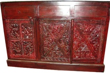 Wooden Colonial Sideboard / by Mogul Interior