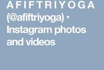 Afif's Instagram