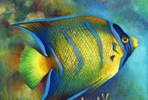 Fish Paintings / Tropical fish