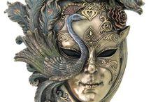 Masks. 7 deadly sins.