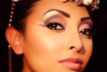 Creative Looks / Professional shots of Le Rouge De La Vie's creative makeup and hair portfolio.