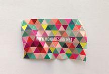 design   business cards / by Marilia Porto