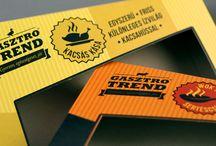 Gasztro Trend / csomagolástervezés, grafikai tervezés és kivitelezés