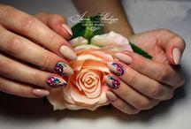 Moje prace, moja pasja❤️ / Uwielbiasz mieć zadbane i piękne paznokcie? Zapraszam na stylizację paznokci metodą żelową, manicure, manicure hybrydowy oraz na mój instagram ;)