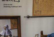 """Dichtbij Vermeer / """"Dichtbij Vermeer"""" is Dutch, it means: close to Vermeer."""