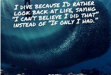 Inspiration ° Scuba Dive (Quotes)