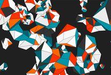 Polygonal Landscape / Generative Design
