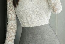 Faldas tubo