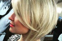 Haircut / Blond en asym