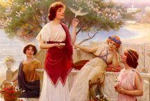 La femenine /  The faces of femininity and womanhood are many. / by Mirabelle Galian