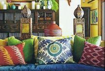 Ethnic rooms boho homes