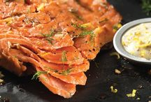 Mustard for Fish & Seafood / Entrees and main dishes featuring mustard with fish and seafood.