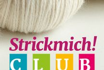 Strickmich! Club 2018 / … that's four times excitement when unwrapping your package, four times pleasant surprises when you unpack a brand-new exclusive special skein of yarn!