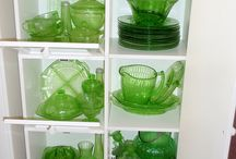 Vintage depression glass / by Dawn Bauer